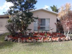 Front View of Garden Makeover After