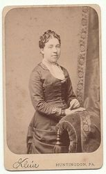 Matilda C. Ealy - Probably taken in the mid 1880s