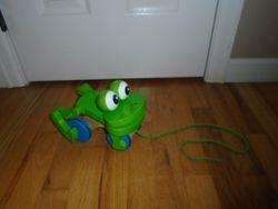 Melissa & Doug Frolicking Frog Pull Toy - $12