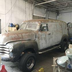 13.50 Chevy Delivery panel van