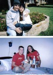 Dustin and I (circa 2003)