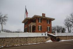 President Grant's home in Galena IL