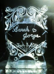 BRIDAL ICE SCULPTURE