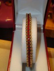 Single Ruby Tennis Bracelet