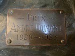 Sculpture Prix André Dumont 1920-1923