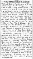 Garner, Margaret Greaser 1941