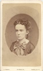 Marcia Scudder Lewis, wife of Calvin Patterson, Buffalo, NY