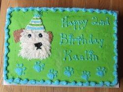 Dog/ Puppy Cake