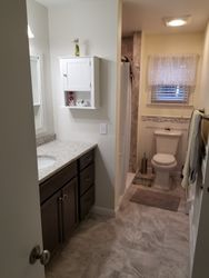 Full Bathroom Remodel, Tub Changed To Shower With Seat #4