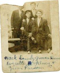 Peter Mack Lamb, Grover Cleveland Dunn, Everette McKinney, James Parsons