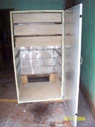 Assemblying drying shelves