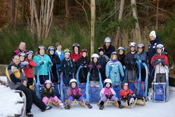Luge Camp Attendees