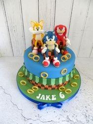 Jake's 6th Birthday Cake