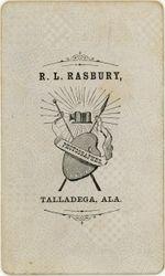 R. L. Rasbury, Talladega, AL - back