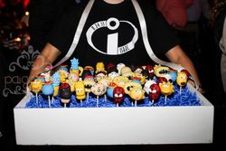 Cartoon Party Cake Pops