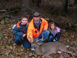 Field Staff Member Greg Wrighter and kids