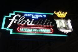 Floridita sign