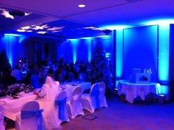 Uplighting for wedding