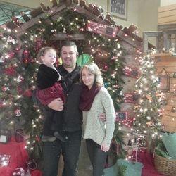 Marty, Kimberley and Lauren