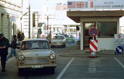 Check Point Charlie-still there into the 90's