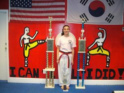 03-11-2012 Championships Amanda Martinez 1st pl Fighting 1st pl Breaking 2nd Place Forms