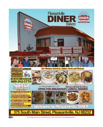 Pleasantville Diner & Bakery, Promotions, New Jersey, Newspaper