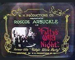 1914 FATTY'S WINE PARTY
