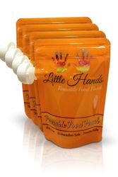4 pack of Little Hands Food Pouch