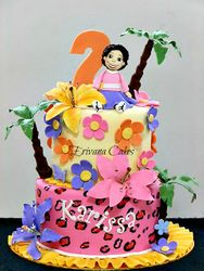 Carribean themed cake