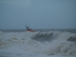 Arklow Lifeboat on rough weather exercise