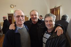 Johnny Saint, Mal Sanders, Steve Grey