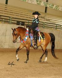 Cyn & Gator Daffodil Arabian Horse Association Spring Show