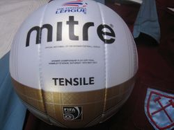 Matchball from the NPOWER Championship play off final