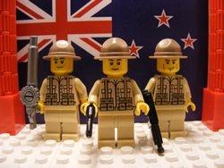 New Zealand Artillery Trooper