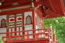 Pagoda Detail 1, Japanese Tea Garden