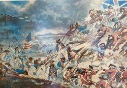 Battle of Ninety Six mural