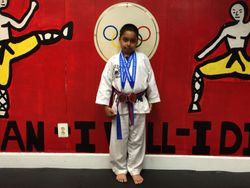 04/26/2015 Presidential Cup TKD Championship Girish Noruthun 2nd Place Forms 3rd Place Sparring