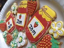 Strawberry Jam Platter