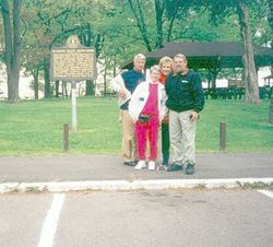 On tour in Union City, TN 1998