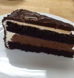 Devils Food Cake Slice