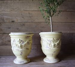 #29/141 FRENCH ANDUZE YELLOW PLANTERS