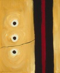 Black & Tan #4, Acrylic, 16x20, Original Sold