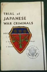 Japanese war crime trial tribunal, MP