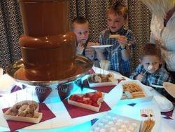 Chocolate Fountain Hire Market rasen racecourse