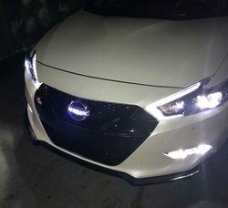2017 Maxima Custom LED Front Emblem