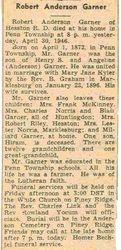 Garner, Robert Anderson 1946