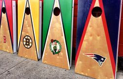 Beantown Cornhole Sports Bar Set