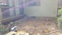 Before Deck rip and rebuild Granby