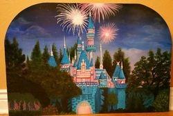 Sleeping Beauty's Castle (night)