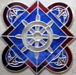 Ships Wheel Panel